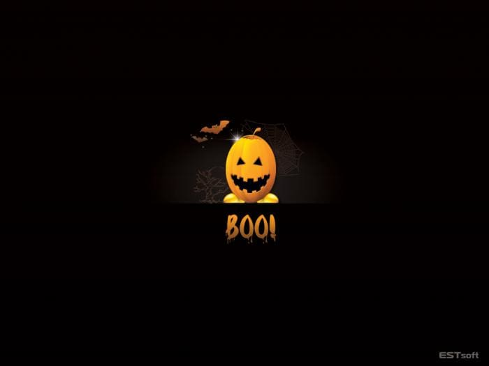Boo-tiful Halloween Wallpaper