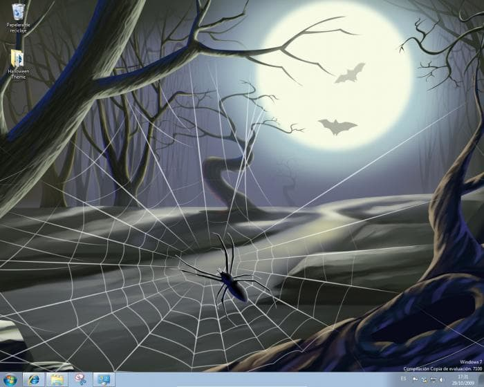 Windows 7 Halloween Theme Pack