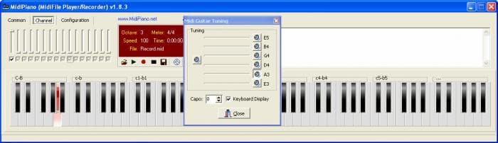 MidiPiano/Drum