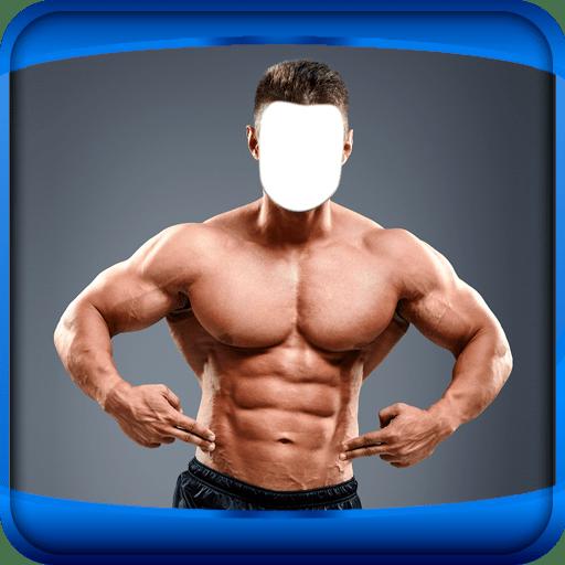 Man Bodybuilder Photo Montage