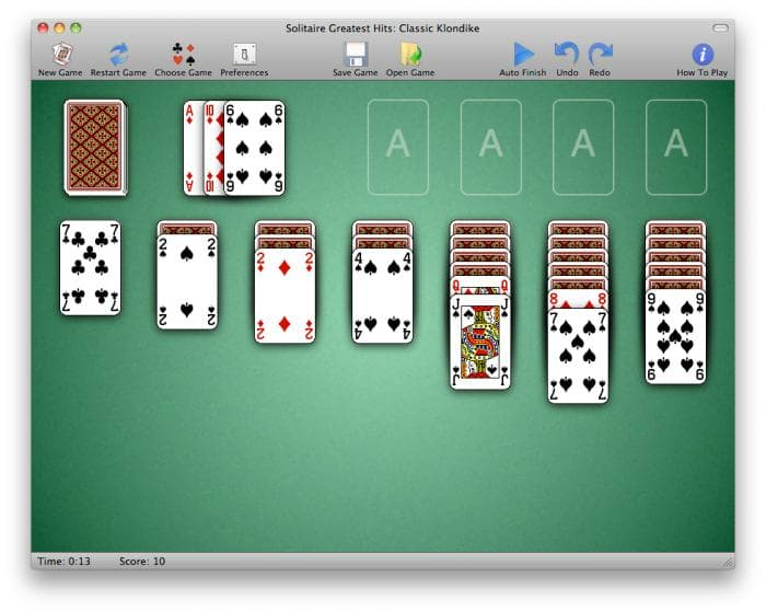 different solitaire card games