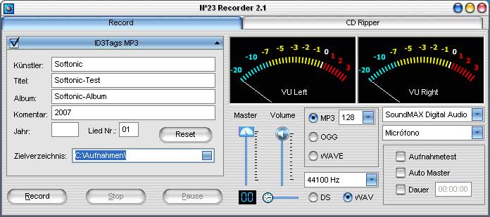 No23 Recorder