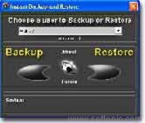 Instant Backup and Restore