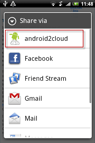 android2cloud