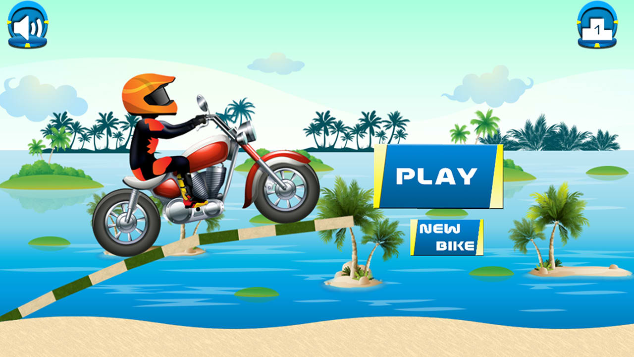 Beach Power:The Motorbike Race