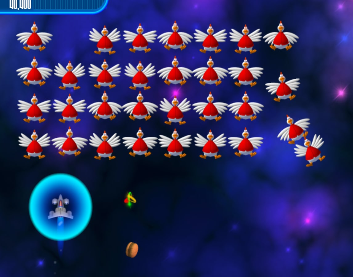 Chicken Invaders III Revenge of the Yolk Free Demo