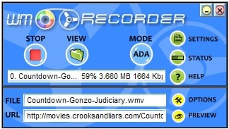 WMRecorder (Windows Media Recorder)