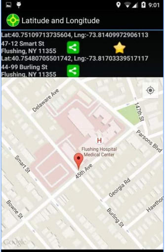 Latitude Longitude For Android Download - Latitude longitude altitude finder