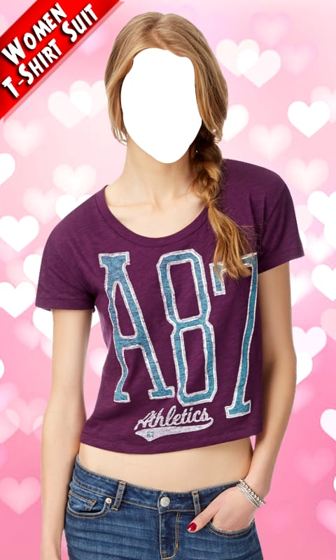 Women T Shirt Photo Suit New