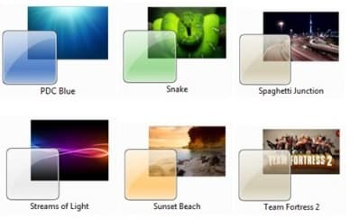 Windows 7 Visual Themes Pack