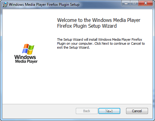 Windows Media Player Plugin
