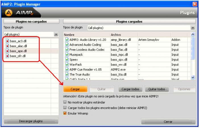 AIMP Input Plugins Pack