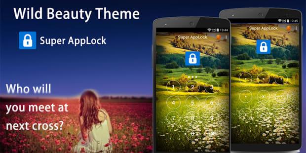AppLock Theme Wild Beauty