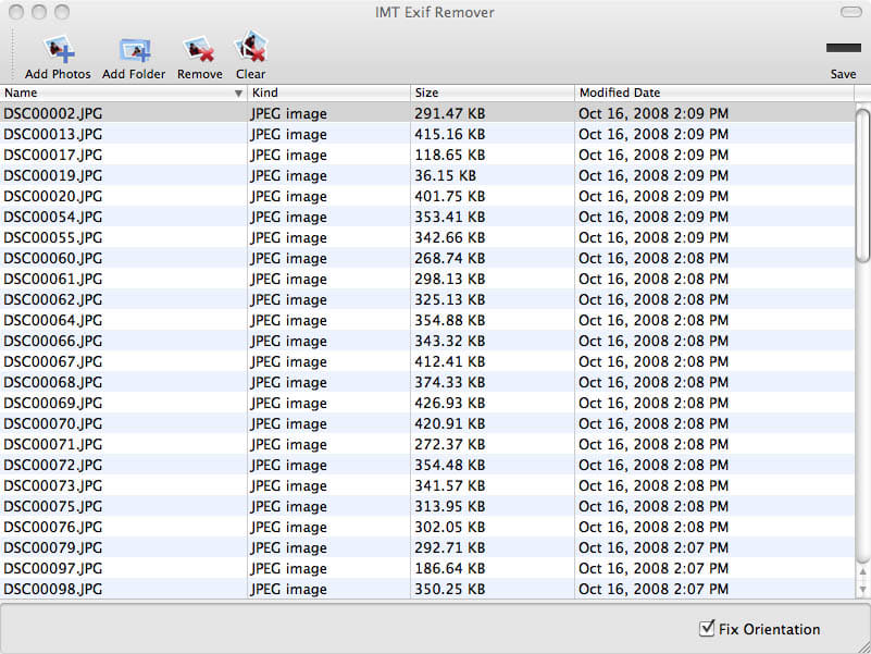 IMT Exif Remover 1.04