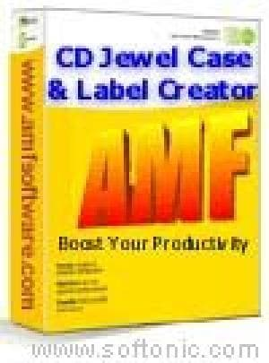 CD Jewel Case and Label Creator for Word