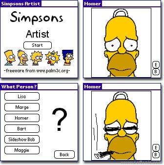 Simpsons Artist
