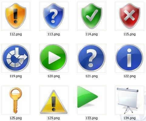 Vista High PX Icons