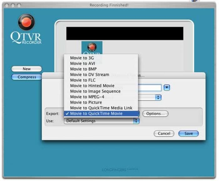 QTVR Recorder