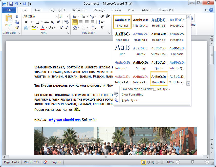 micro office word 2010 free download