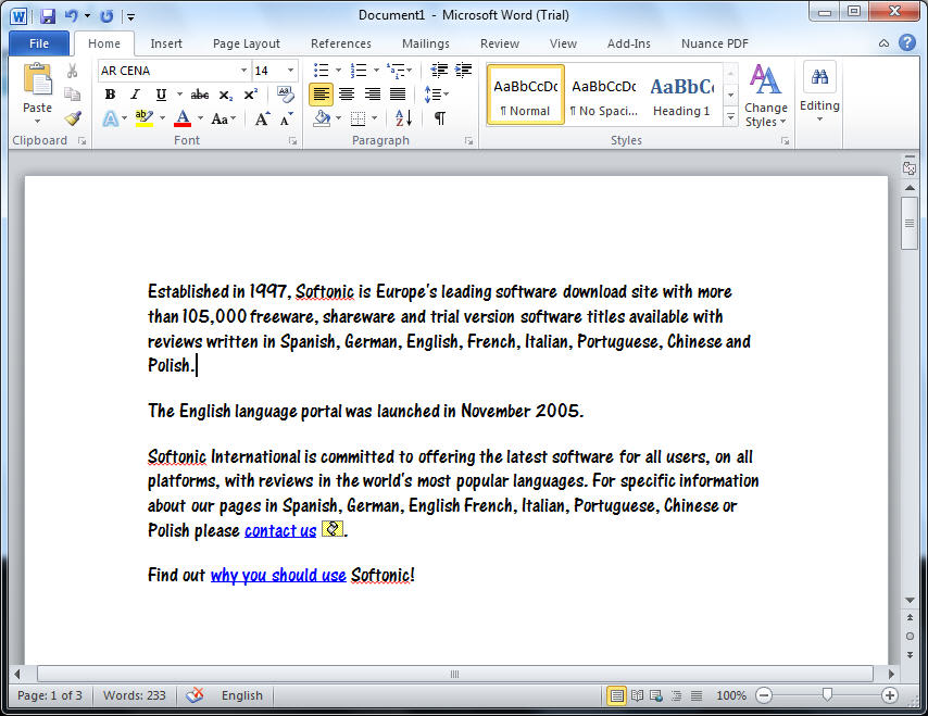 ms word Do you really want the entire microsoft office suite if all you need is word  without the fancy features, you can get microsoft word for free here is how.
