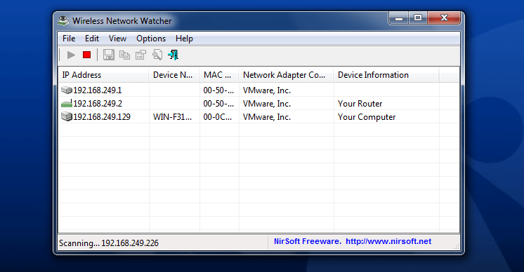 Wireless Network Watcher
