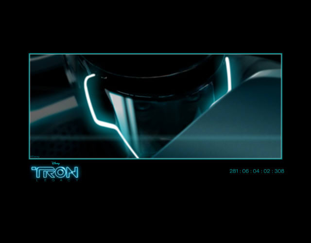 Tron Legacy Screensaver