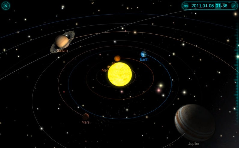 solar system of 3 d - photo #9