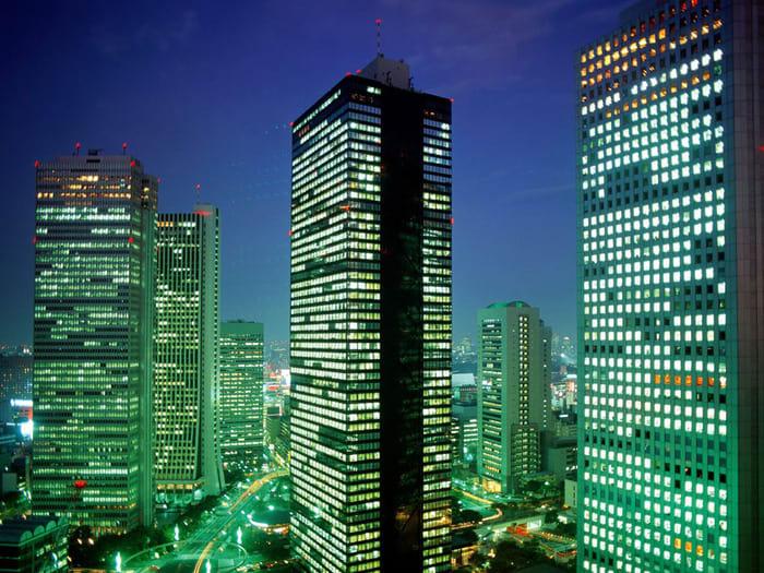 Fondo Tokyo, Japón Shinjuku