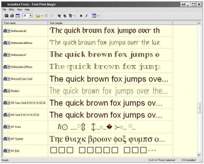 Font Print Magic