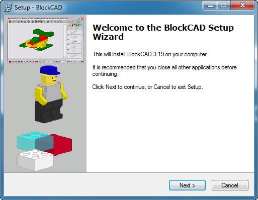 BlockCAD Portable