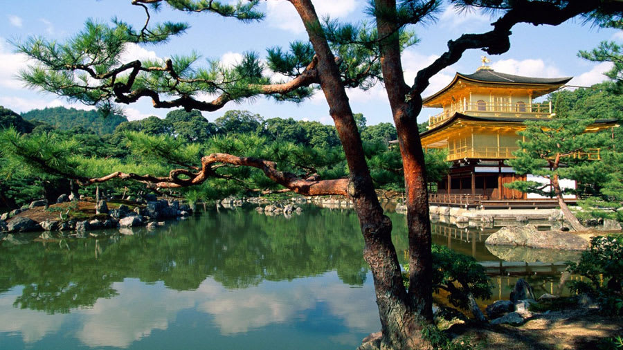 Kinkaku-ji Temple Wallpaper