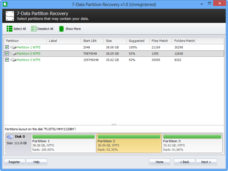 7-Data Partition Recovery