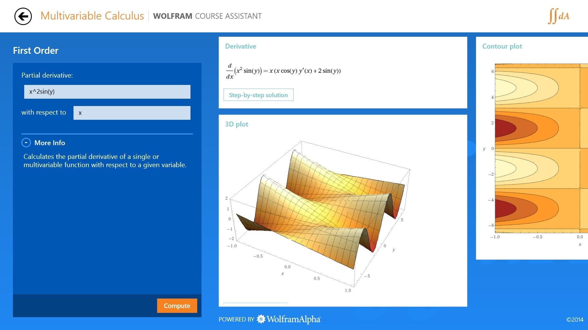 Multivariable Calculus Course Assistant