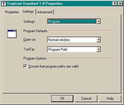 TrayIcon Standard
