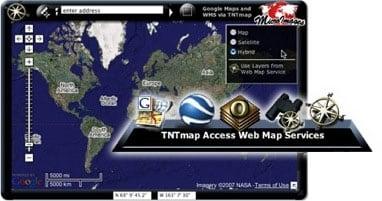 TNTmap Widget