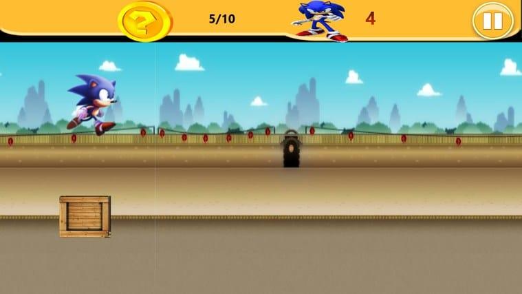 Sonic Runner pour Windows 10