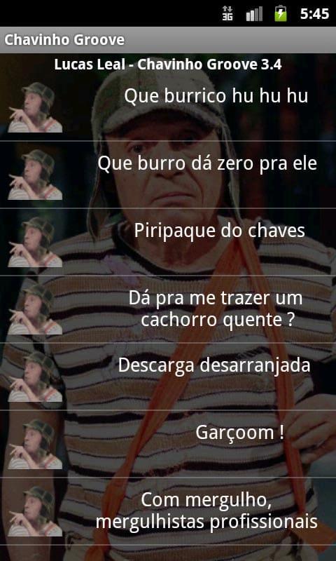 Chavinho Groove - sons do Chaves