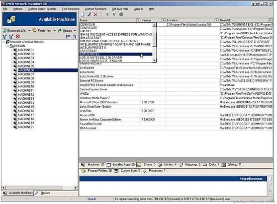 EMCO Network Inventory