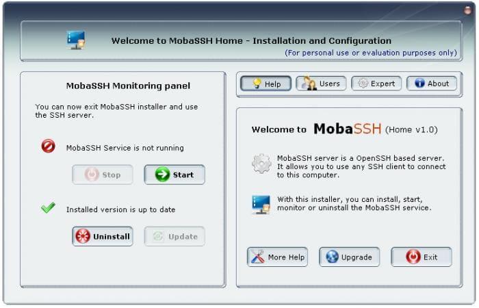 MobaSSH