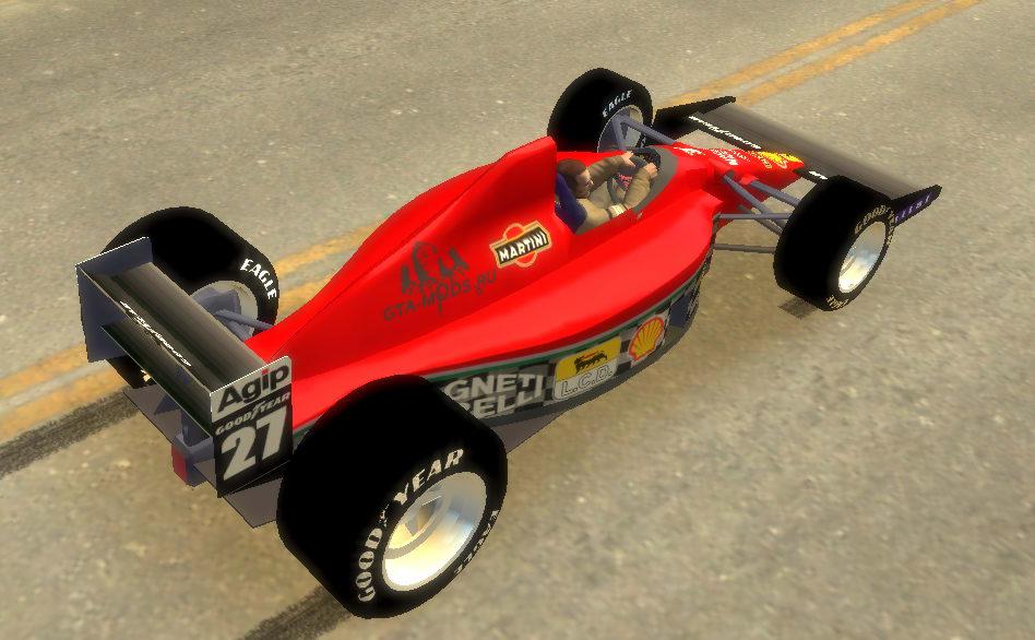GTA IV Ferrari Formula One Mod