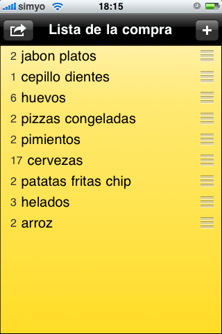 ShopShop - Shopping List