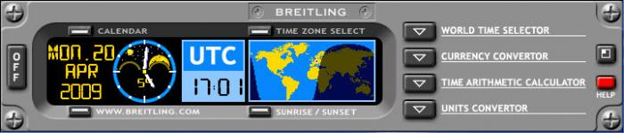 Breitling World Time