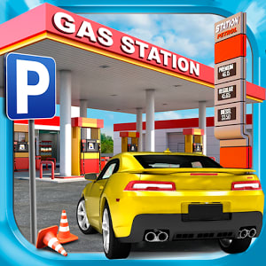 Gas Station Car Parking Game 1.2