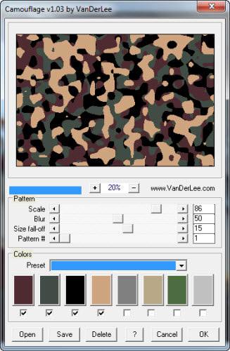 VanDerLee Camouflage 1.0.3