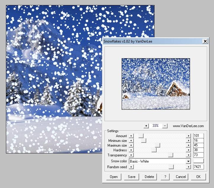 VanDerLee Snowflakes