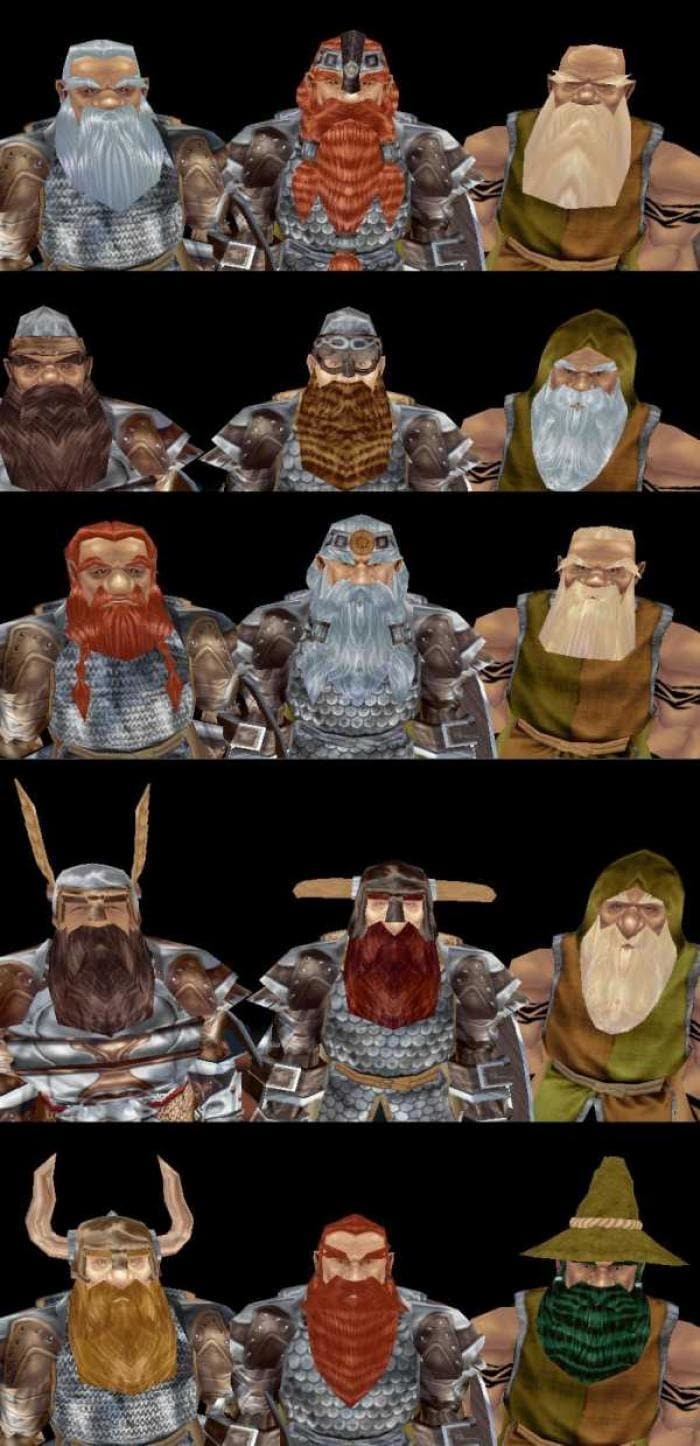 Ardan Nights Dwarf Head Pack