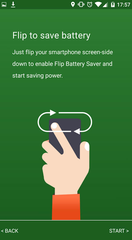 Flip Battery Saver (Power Up)