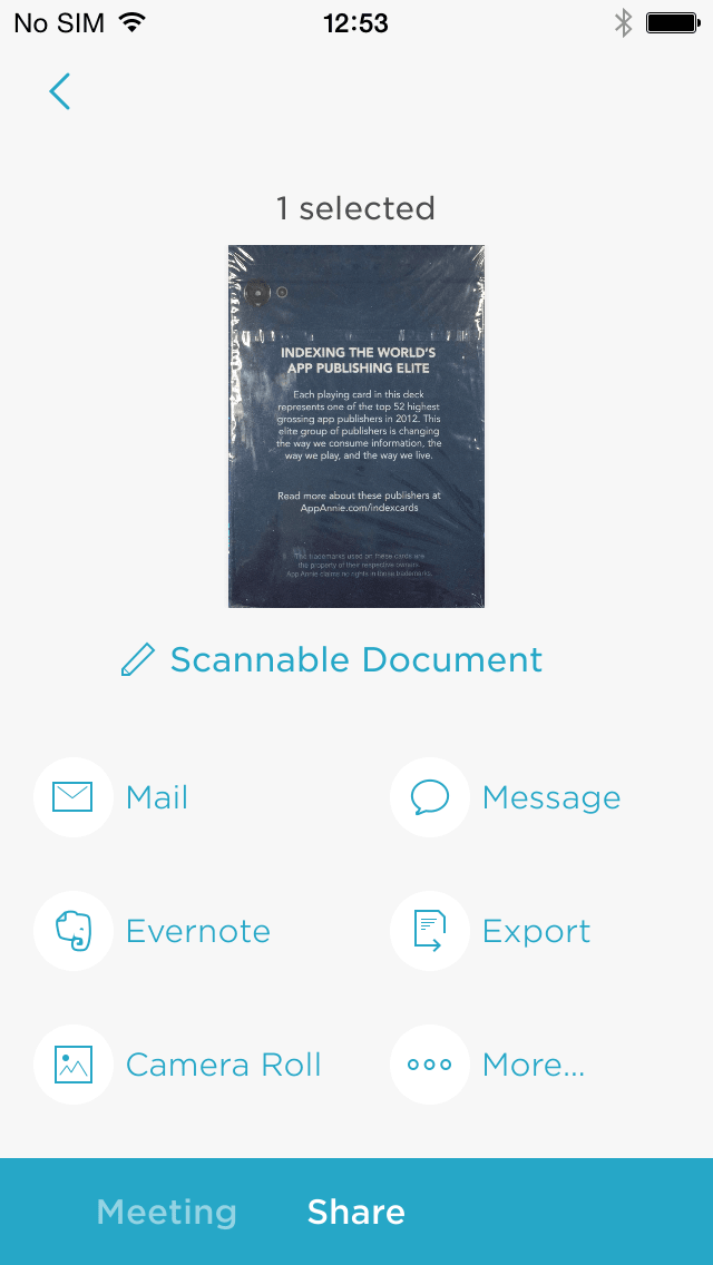 Evernote Scannable for iPhone - Download