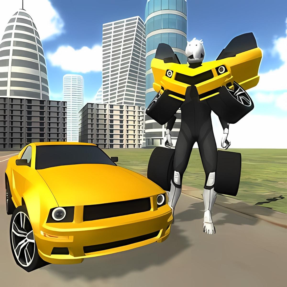 Advanced Muscle Robot Car 1