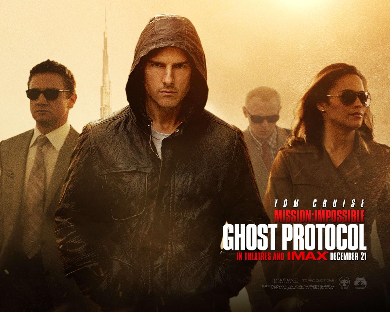 Mission Impossible 4 Wallpaper